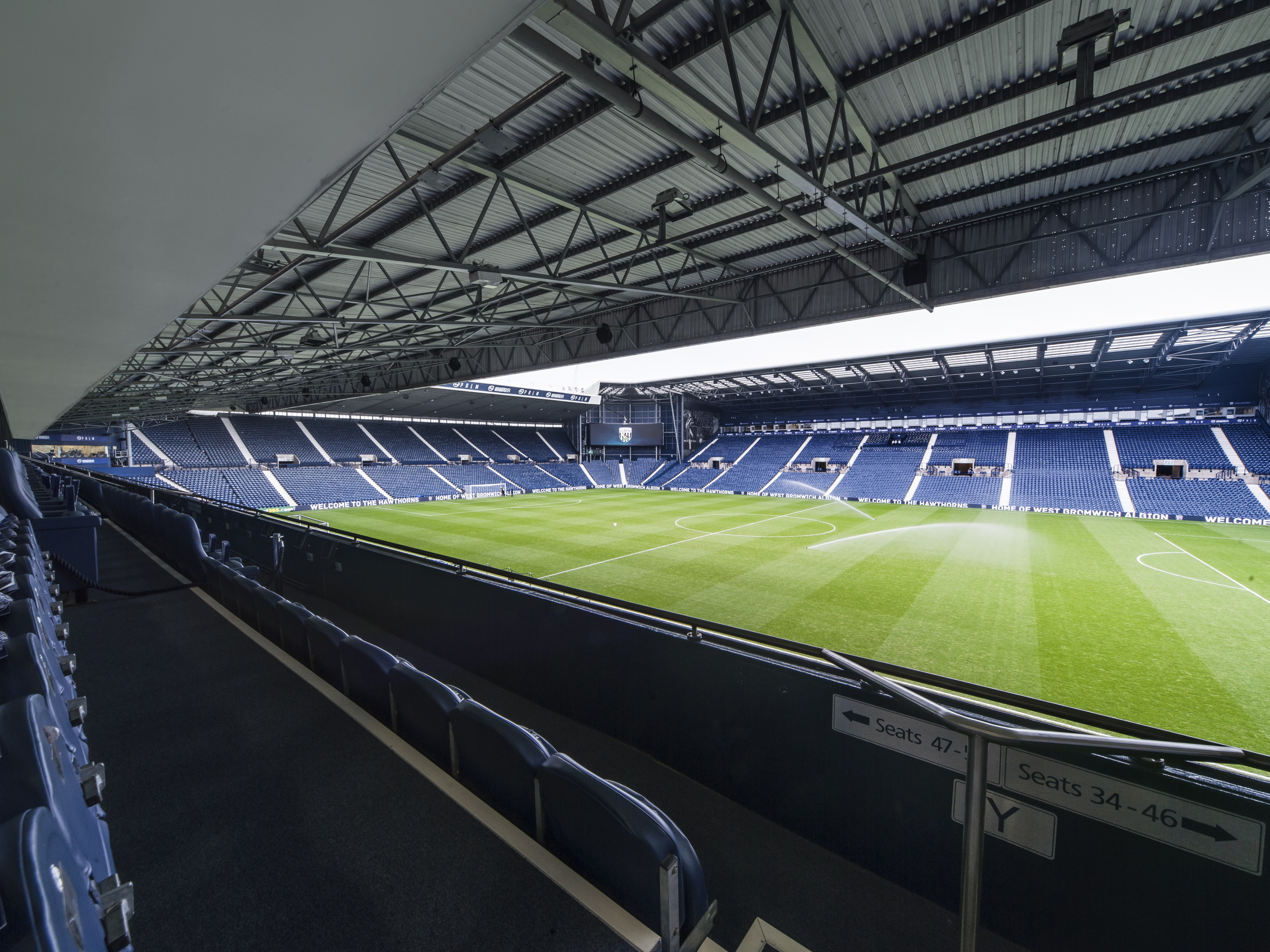 West Stand View