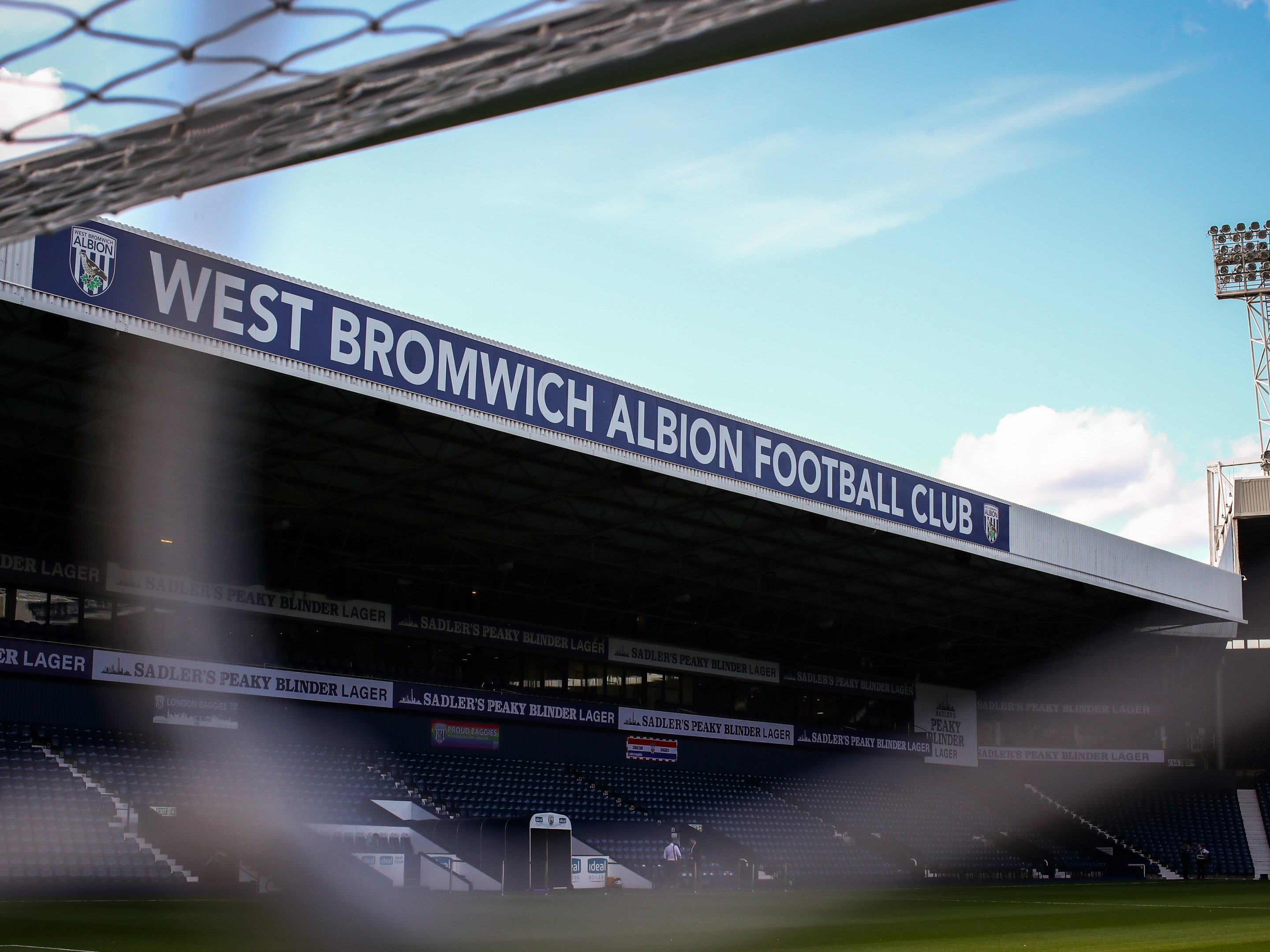 View of the West Stand at The Hawthorns