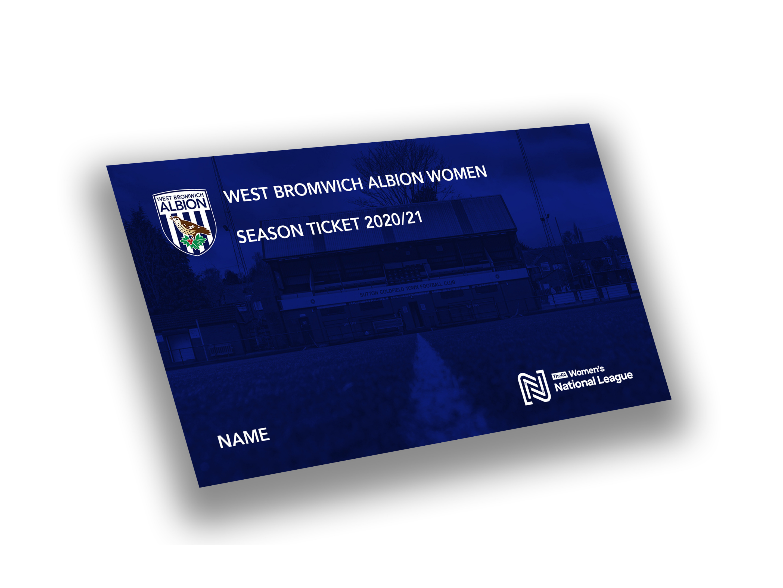 Albion Women 2020/21 Season Ticket