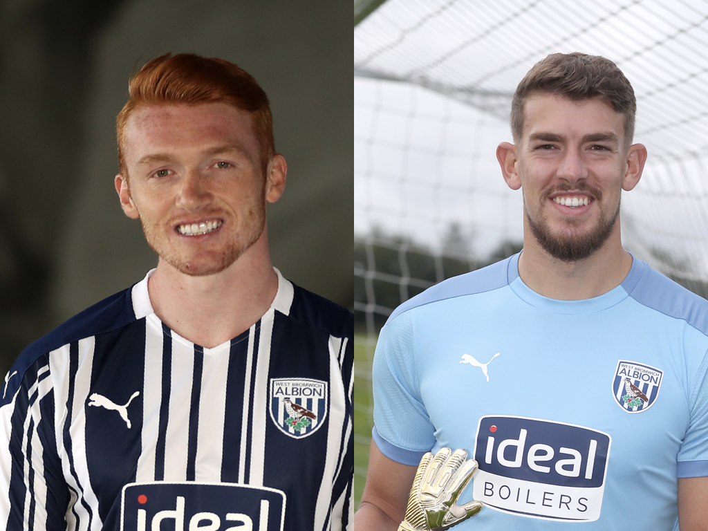 Callum Morton and Alex Palmer head to Lincoln on loan