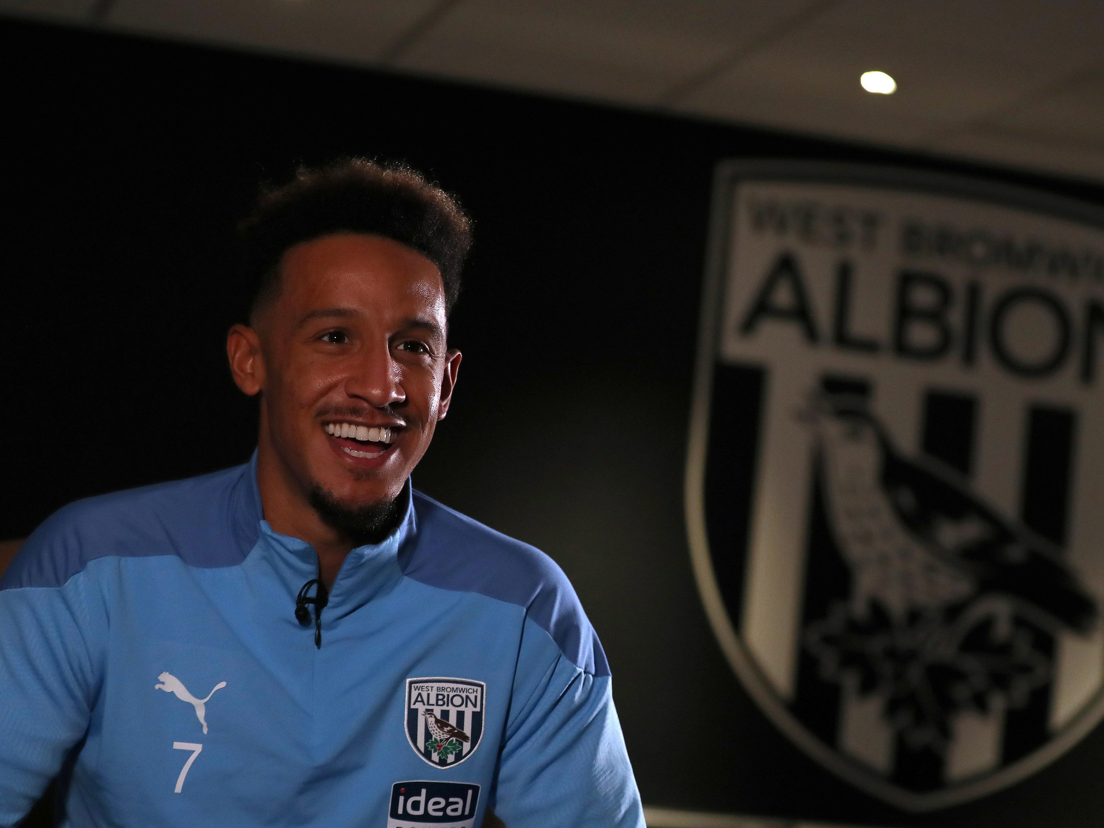 Albion's newest recruit Callum Robinson talks to WBA TV about his 'no-brainer' return