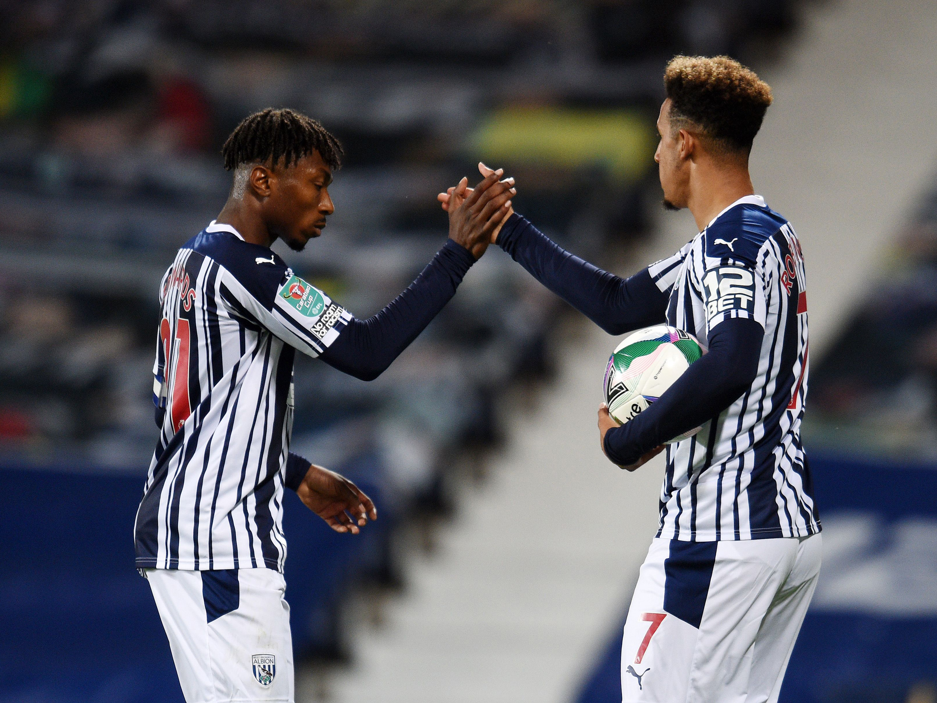 The full highlights from Albion's 3-0 Carabao Cup victory over Harrogate