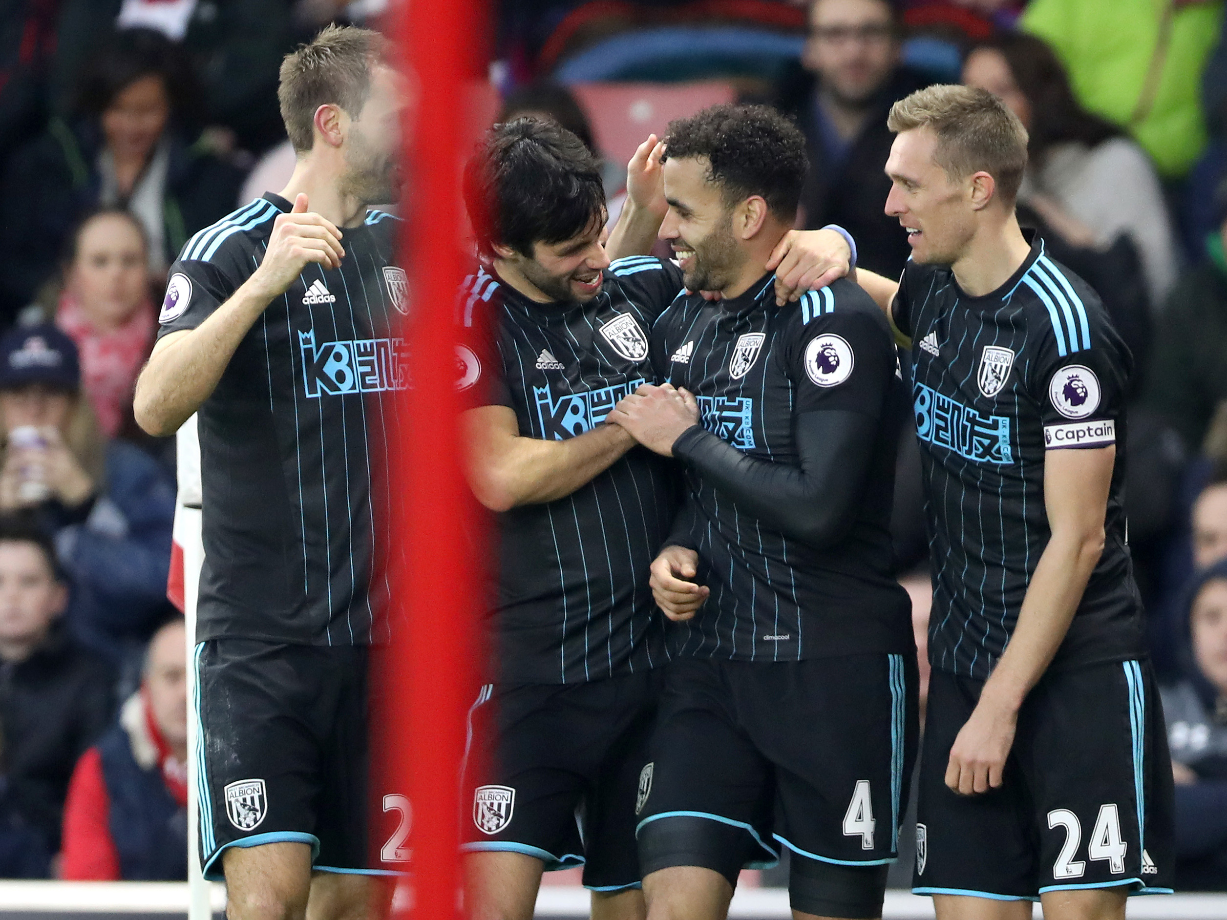 Watch every Albion goal at St. Mary's Stadium