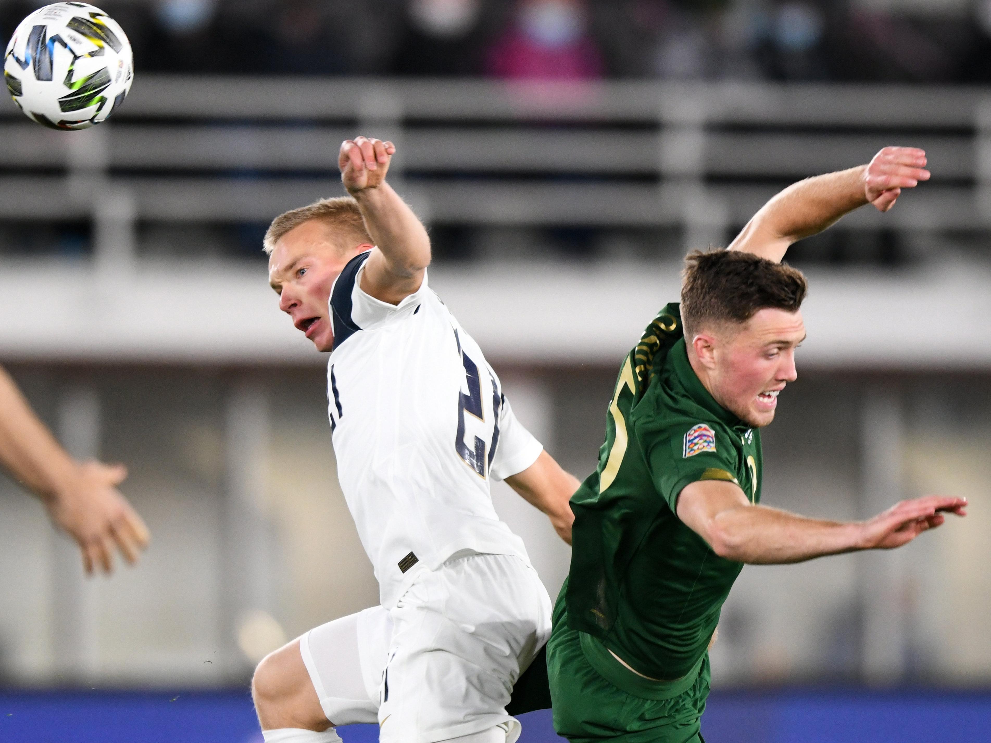 Dara O'Shea's Ireland debut