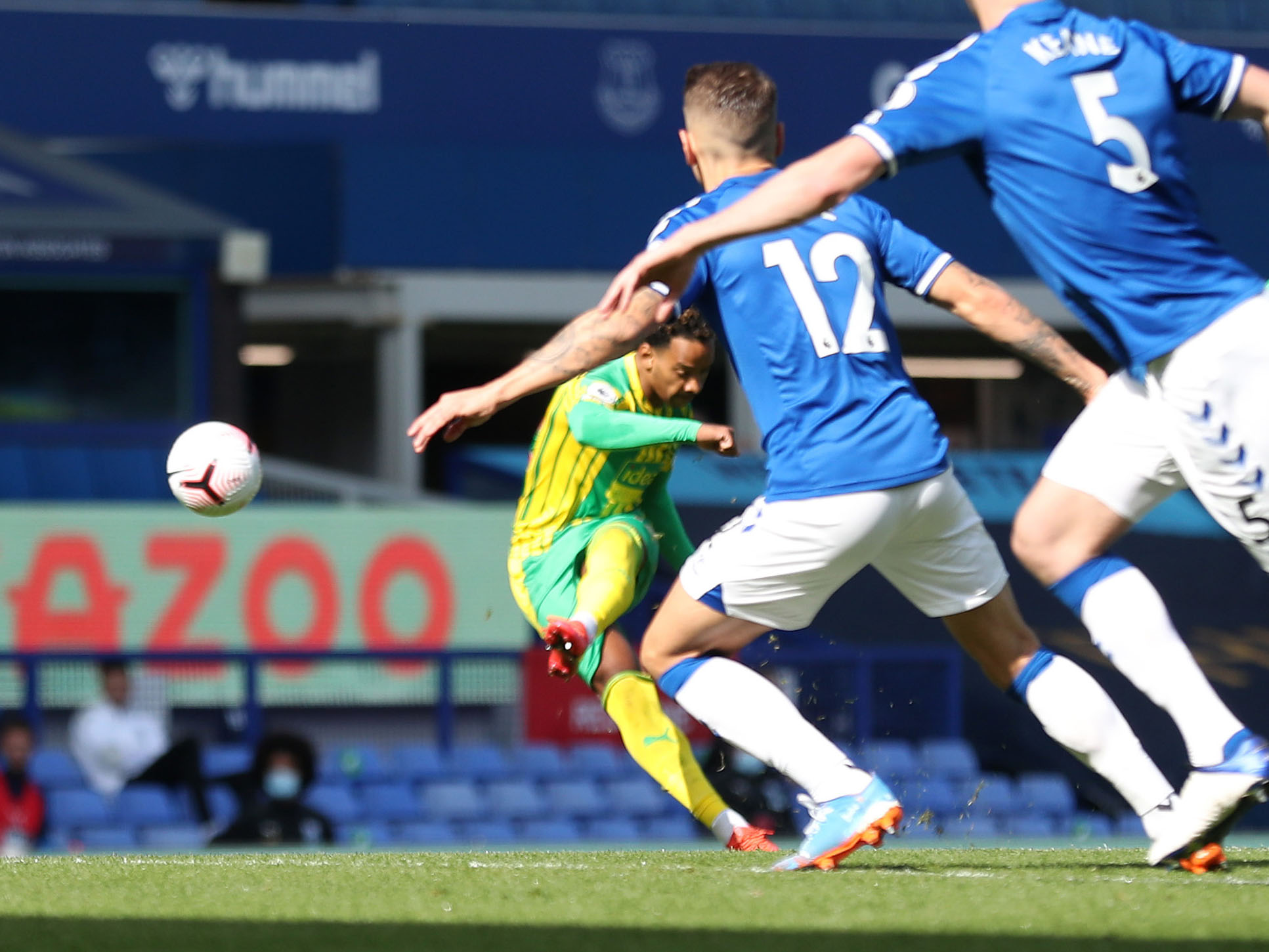 Pereira scores at Everton