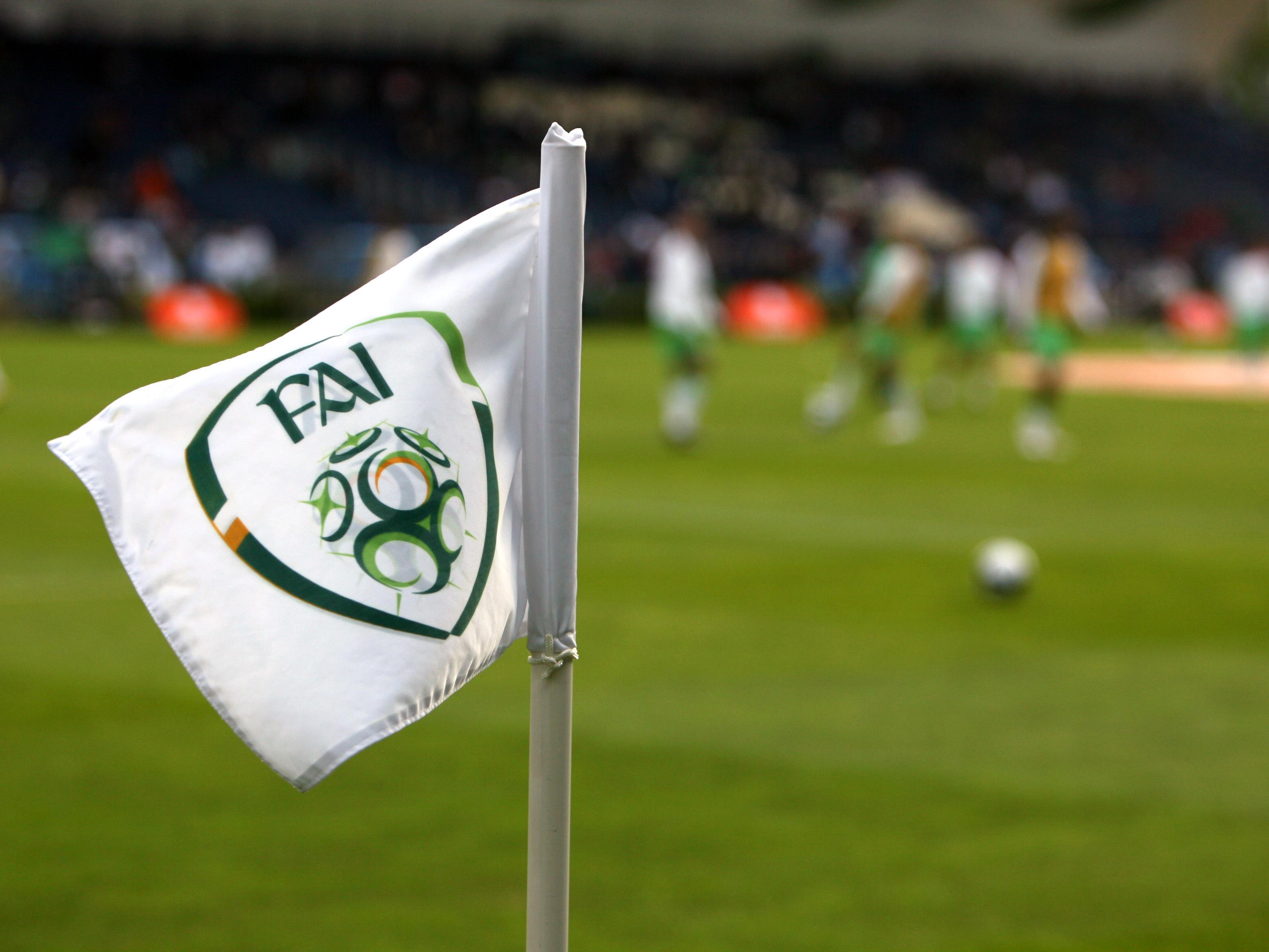 Ireland corner flag