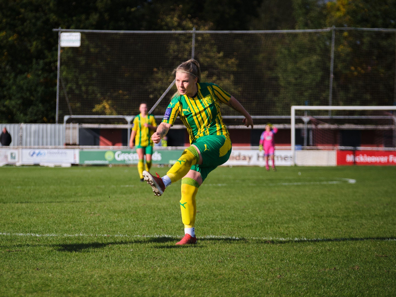 Albion Women away Leigh Dugmore