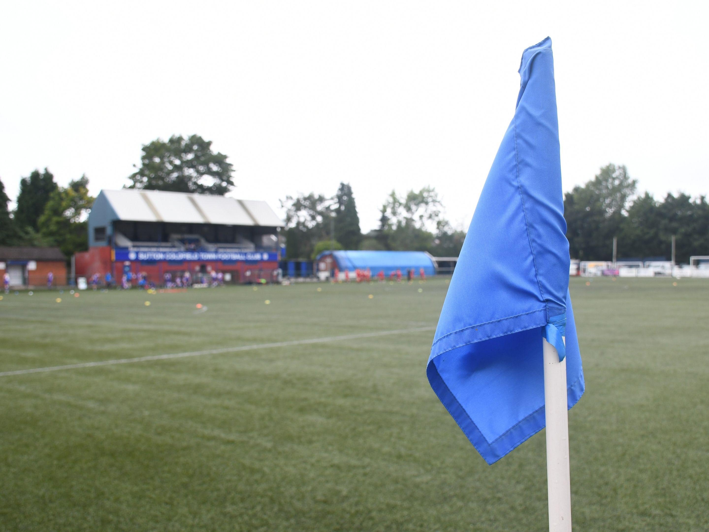 Albion women corner flag