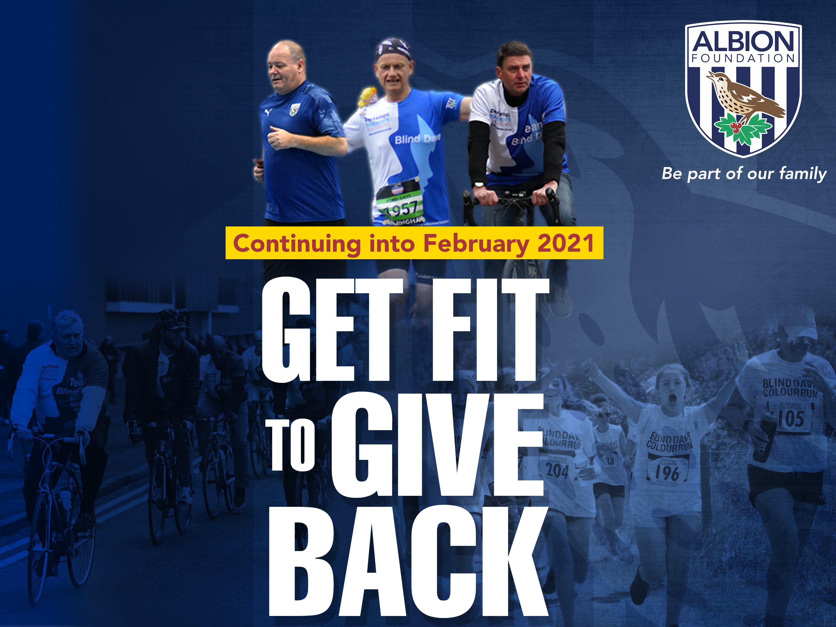 TAF Get fit to give back