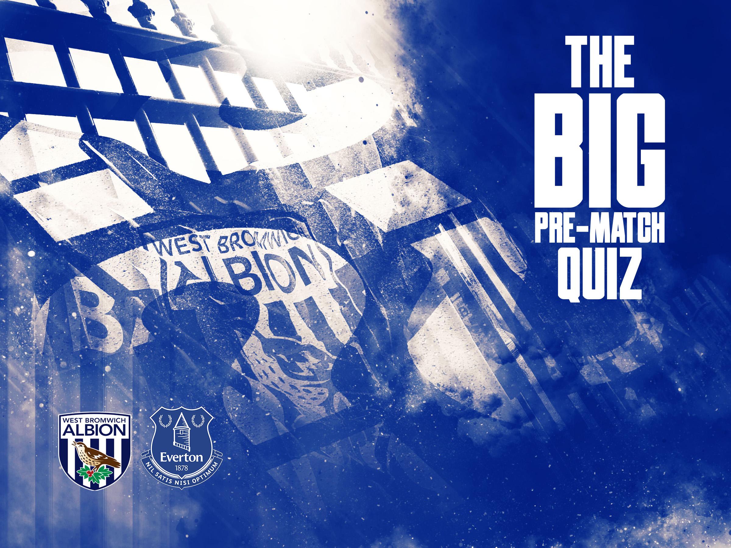 Everton pre-match quiz