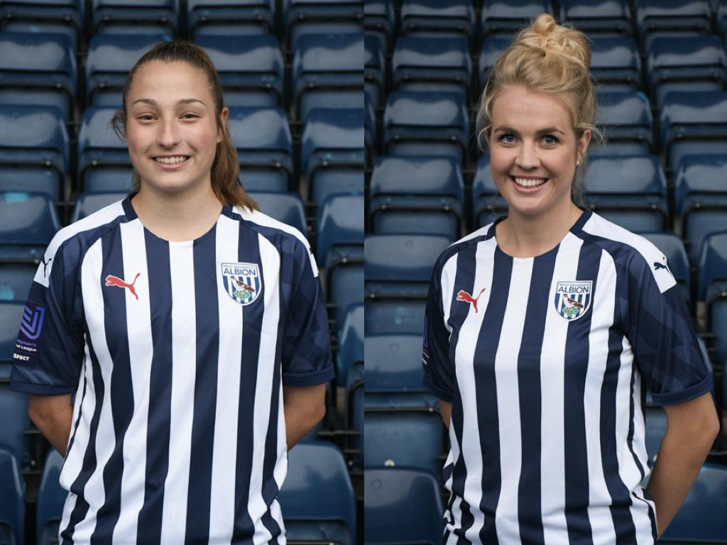 James & Jewitt depart Albion Women