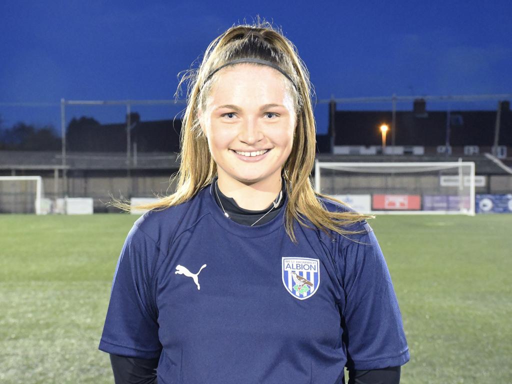 Forward Leanne Robinson has returned to Albion Women