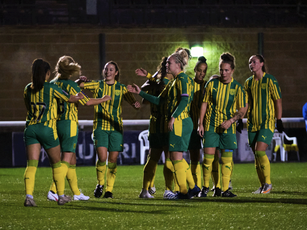 Albion Women capped off their post-season programme with a big win away at Long Eaton United on Sunday