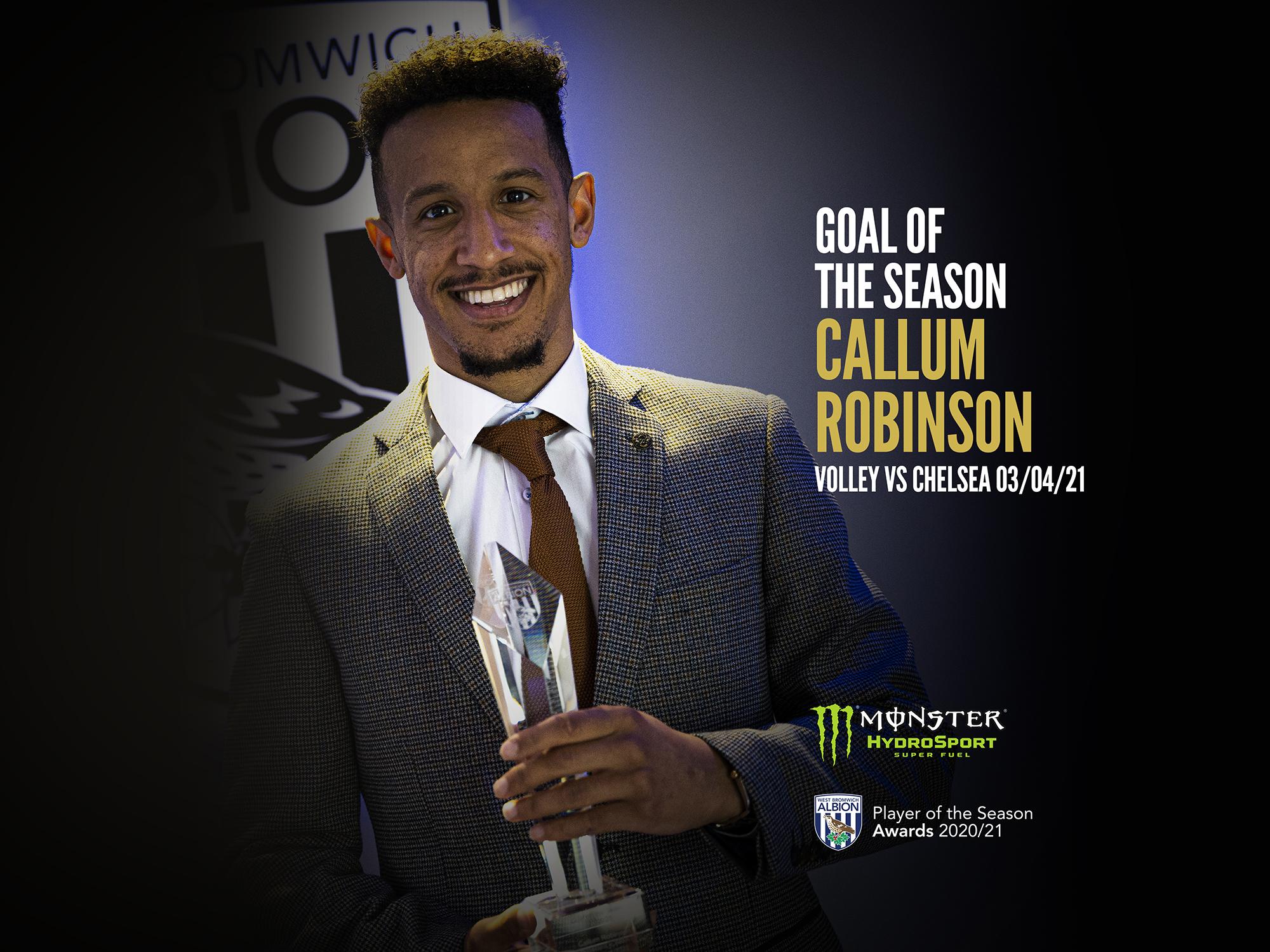 Robinson Goal of the Season