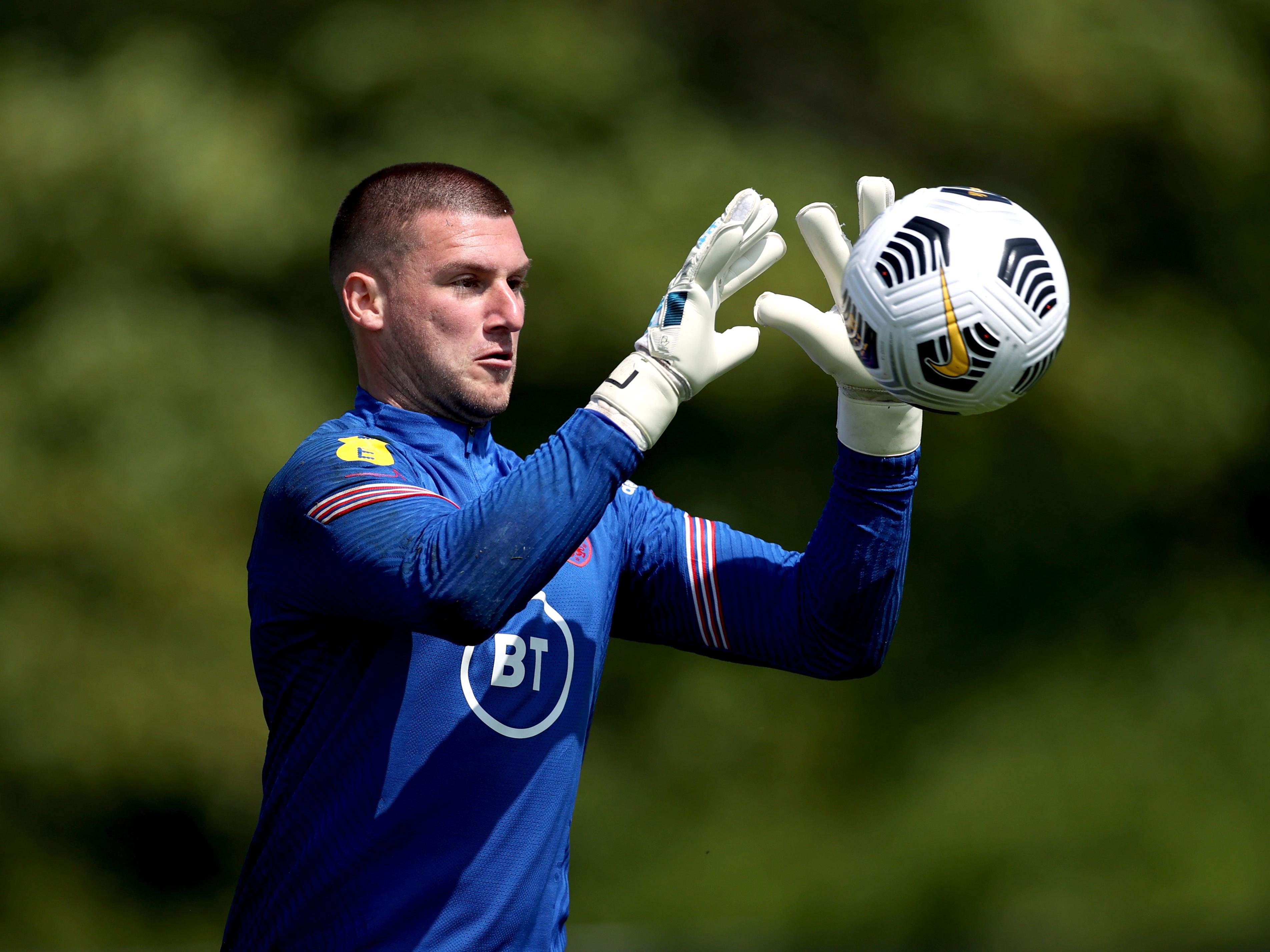 Sam England training thumb