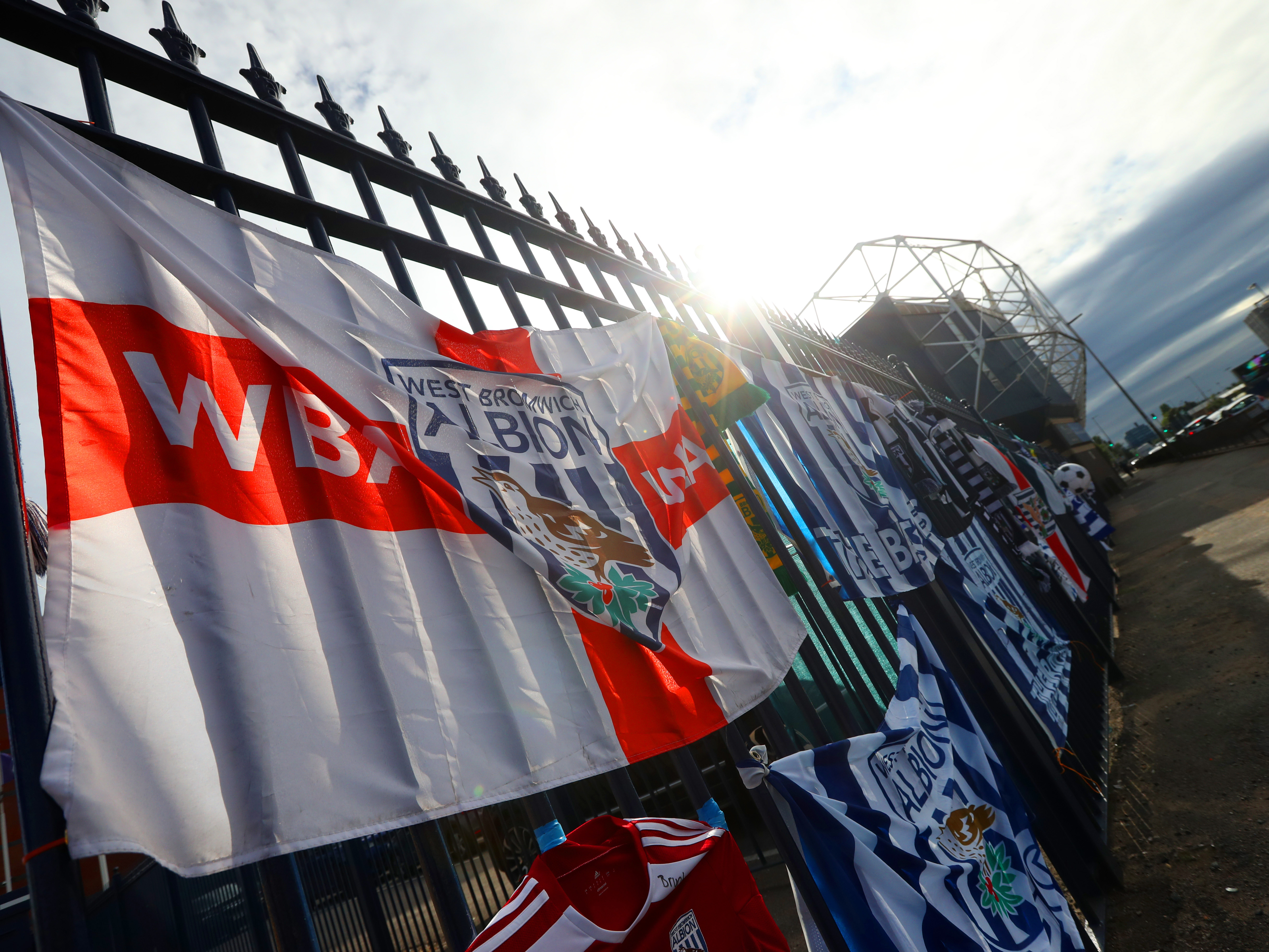 Flags at Hawthorns