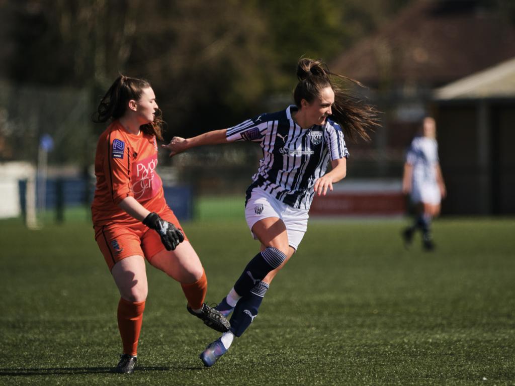 Albion Women striker Jade Arber has joined Nottingham Forest Women