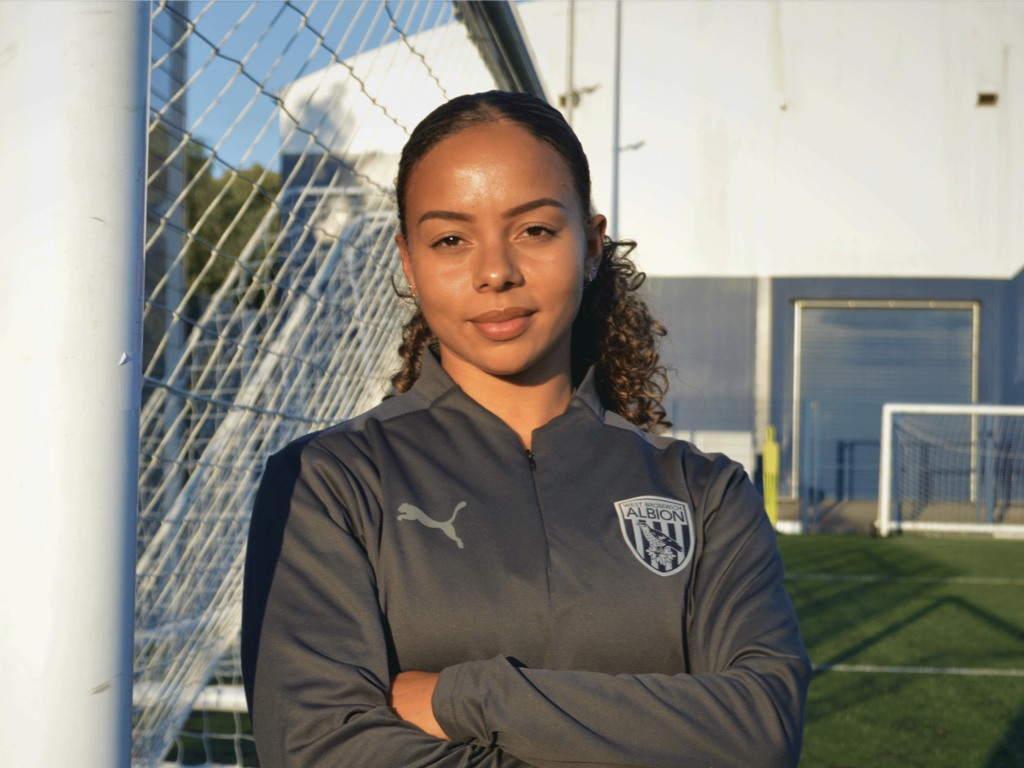 Ashlee Brown becomes the latest recruit for Albion's Women