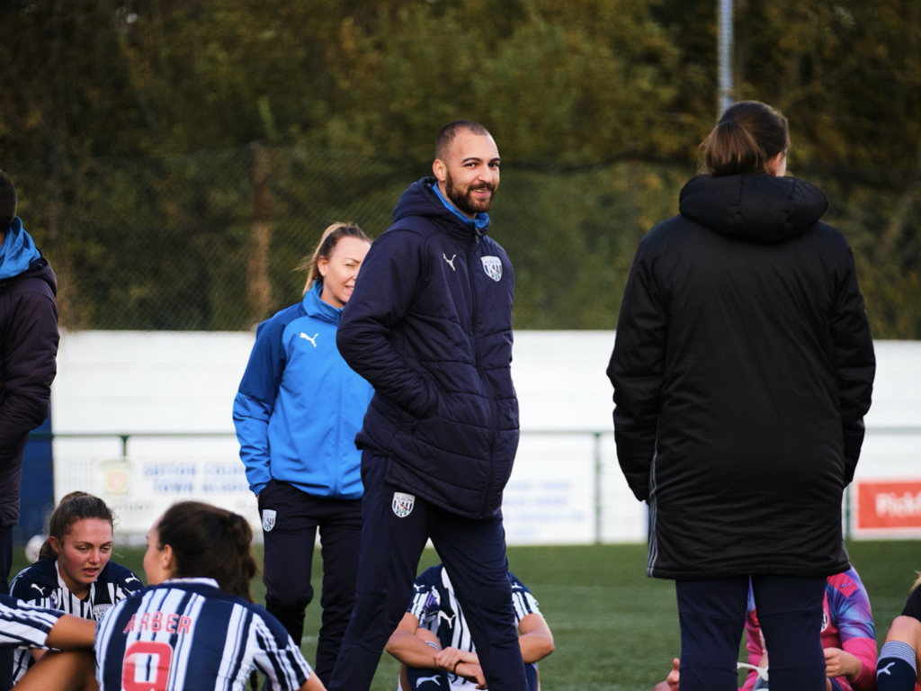 Albion Women manager Louis Sowe is stepping down after four years with the club