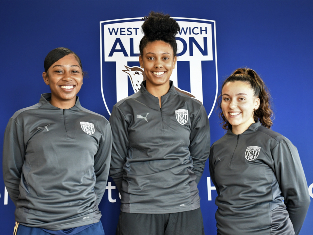 Albion Women have added three new players to their squad as they begin preparations for the new season