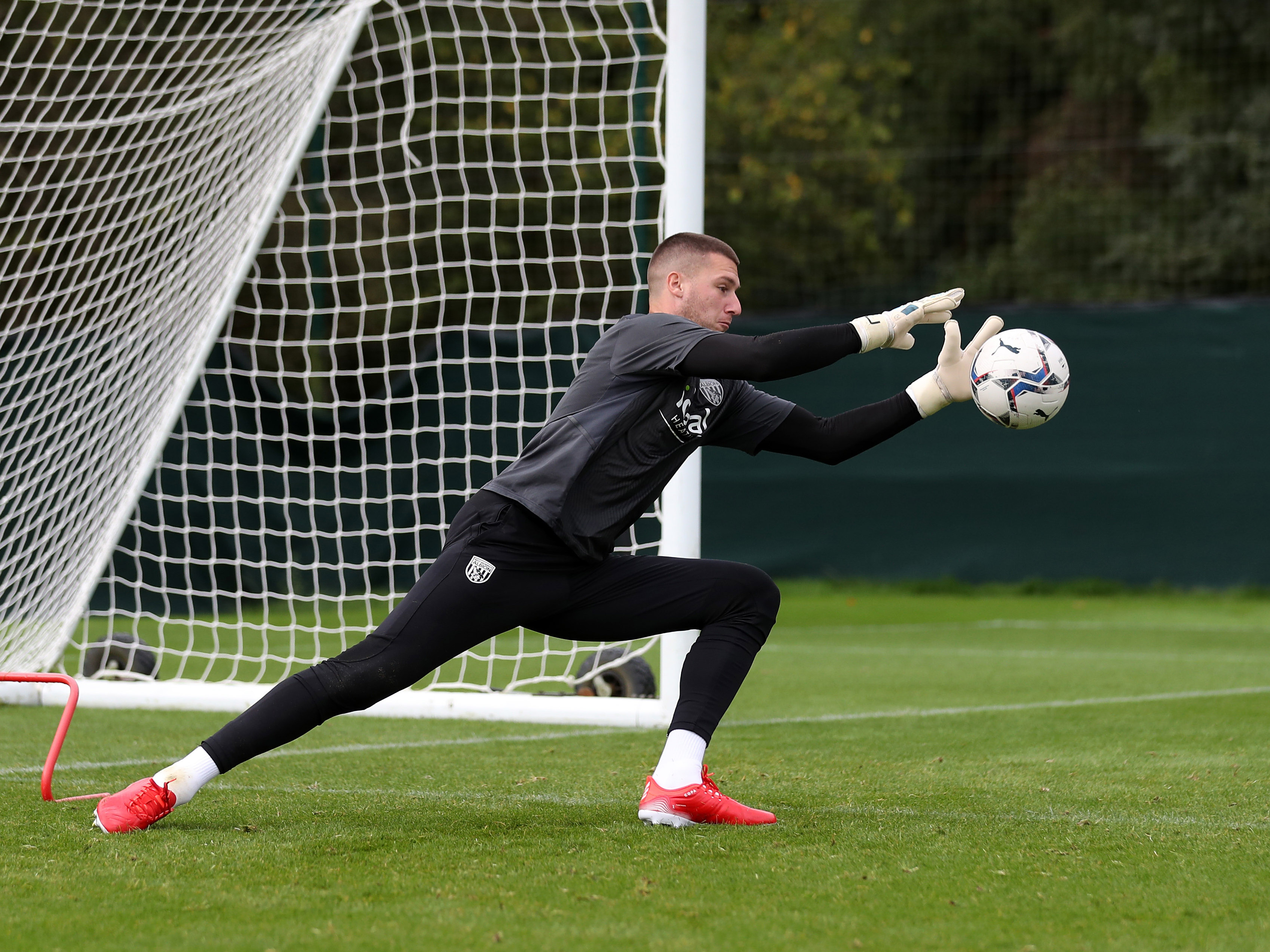 Take a look inside training as Albion's goalkeepers prepare for QPR
