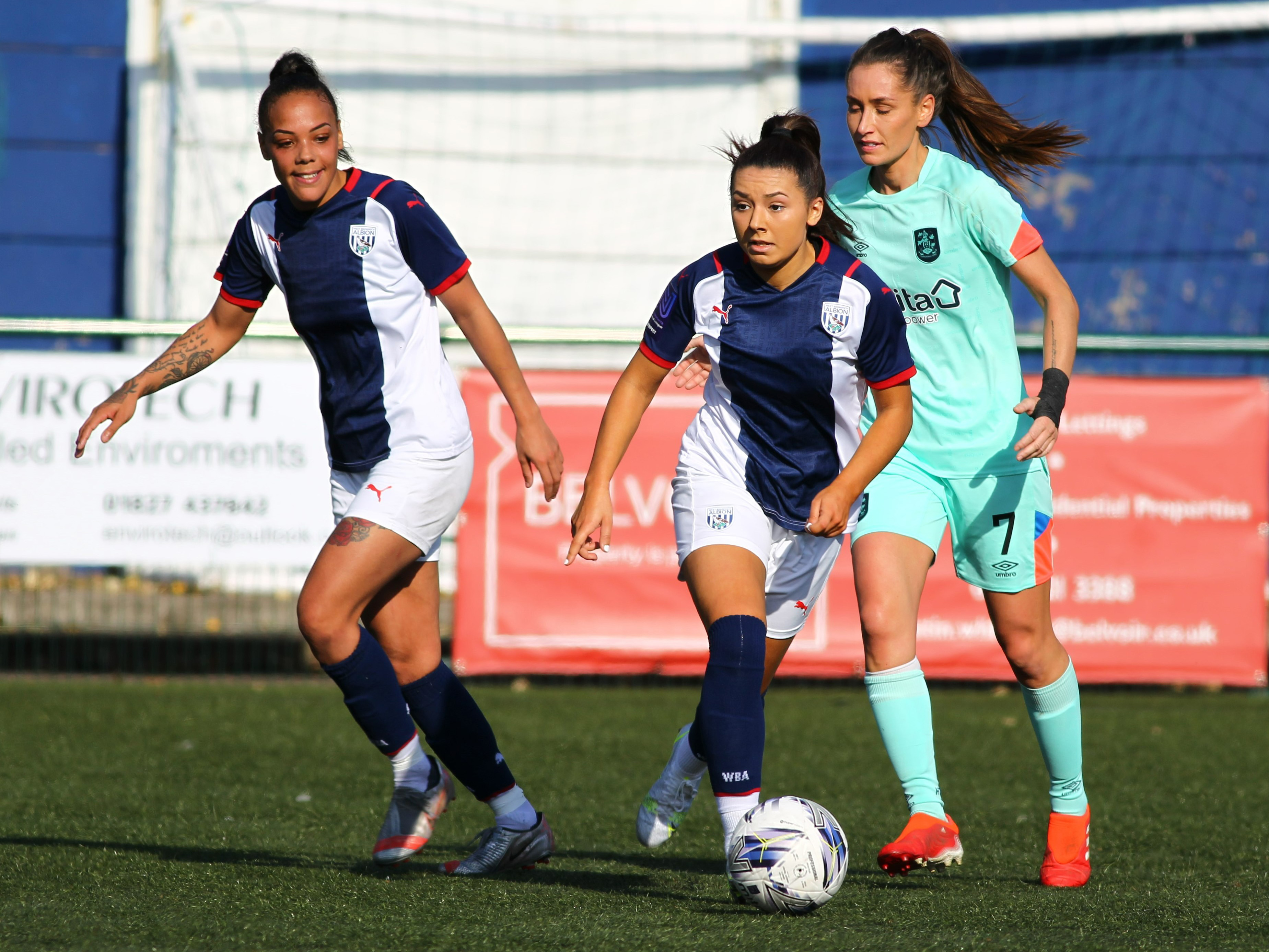 Albion Women succumbed to their first defeat in four league games at home to Huddersfield Town on Sunday.