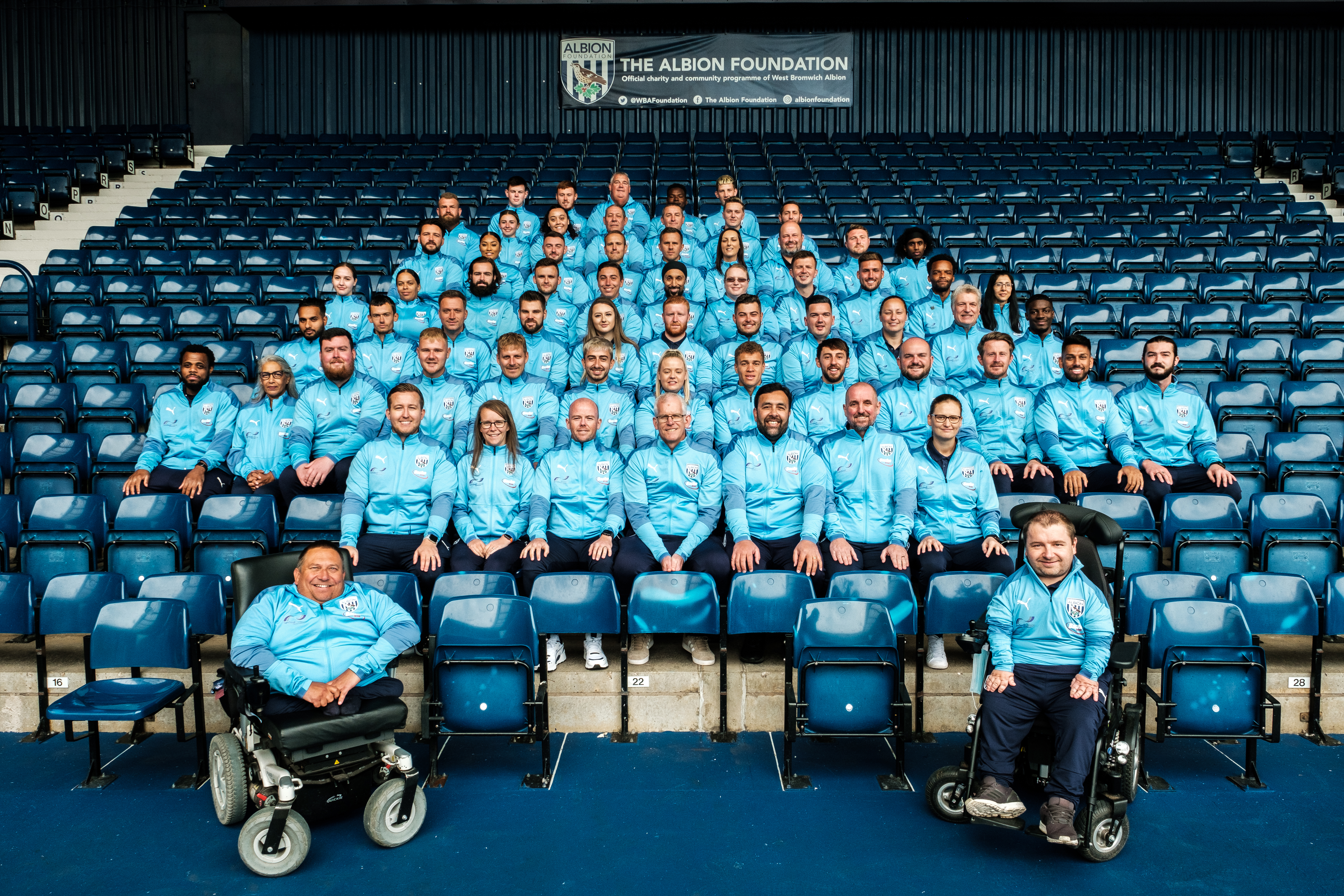 The Albion Foundation All Staff 2021