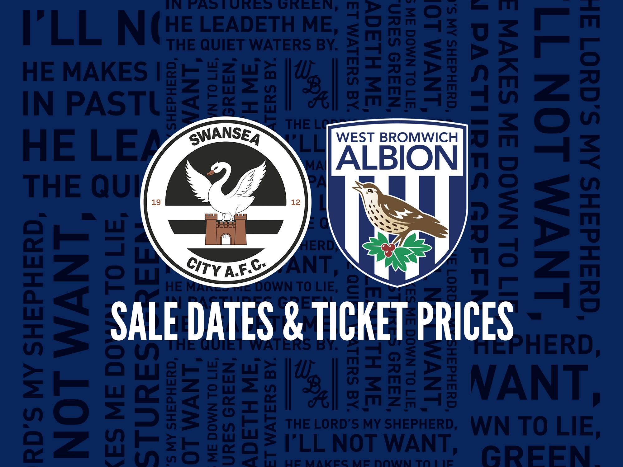 Swansea tickets
