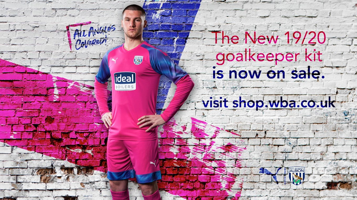 Introducing Albion S 2019 20 Goalkeeper Kit West Bromwich Albion