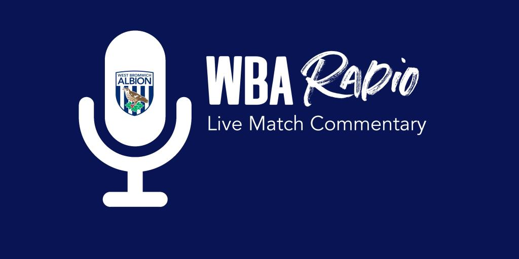 Join Gez and AJ on WBA Radio for 2020/21 campaign | West ...